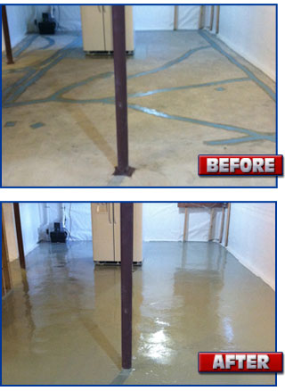 Concrete Floor Coating Waterproofing Sealing Systems